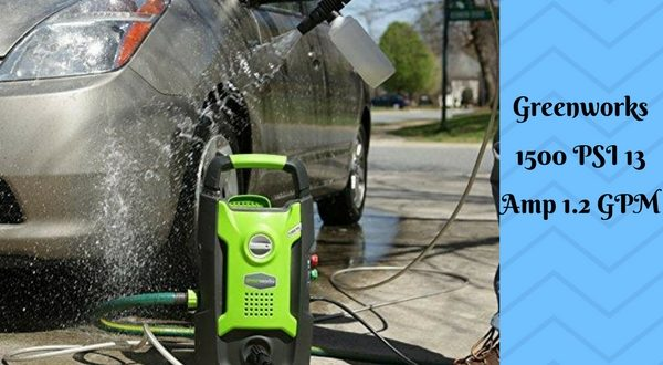 Greenworks GPW1501 1500 PSI Pressure Washer