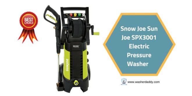 Snow Joe Sun Joe SPX3001 Electric Pressure Washer