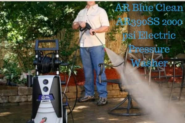 AR Blue Clean AR390SS 2000 psi Electric Pressure Washer
