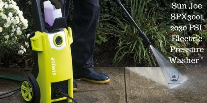 Sun Joe SPX3001 2030 PSI Electric Pressure Washer