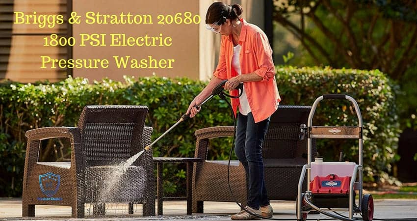 Briggs & Stratton 20680 1800 PSI Electric Pressure Washer