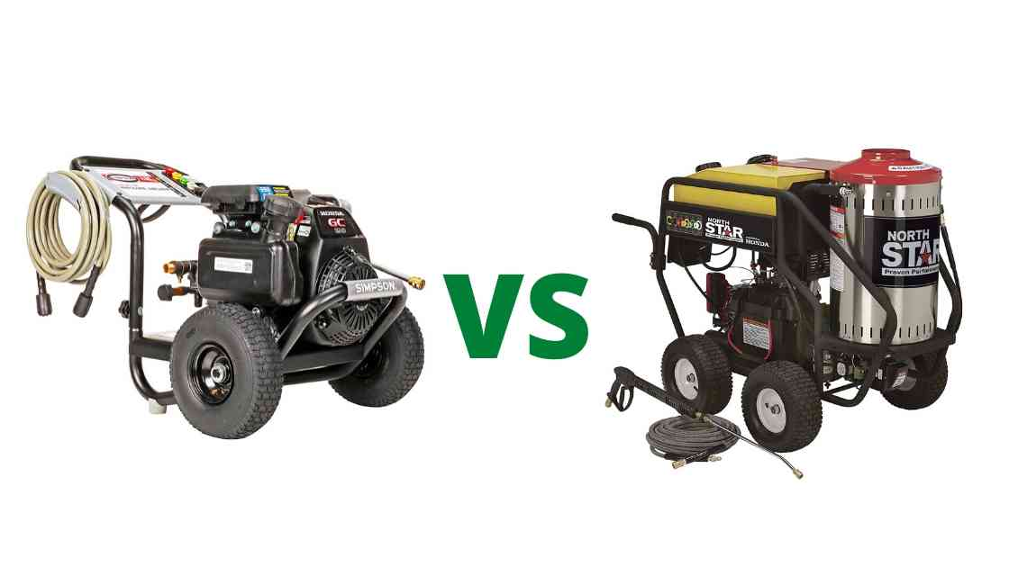 Cold water vs Hot water Pressure Washer