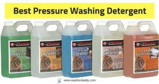 what is the best pressure washer detergent